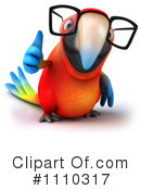 Royalty-Free (RF) parrot Clipart Illustration #1110317