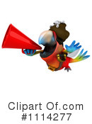 Royalty-Free (RF) Parrot Clipart Illustration #1114277