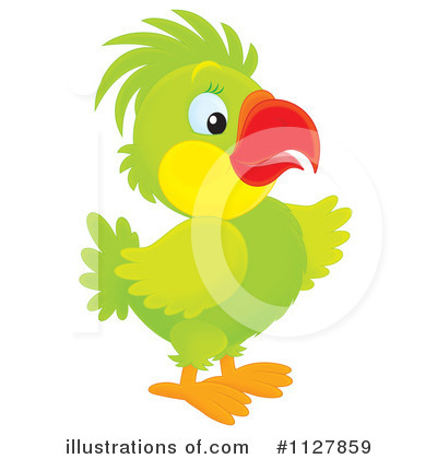 Parrot Clipart #1127859 by Alex Bannykh