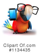 Royalty-Free (RF) parrot Clipart Illustration #1134435