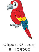 Royalty-Free (RF) Parrot Clipart Illustration #1154588