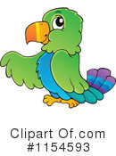 Royalty-Free (RF) Parrot Clipart Illustration #1154593