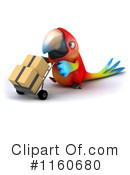 Royalty-Free (RF) Parrot Clipart Illustration #1160680