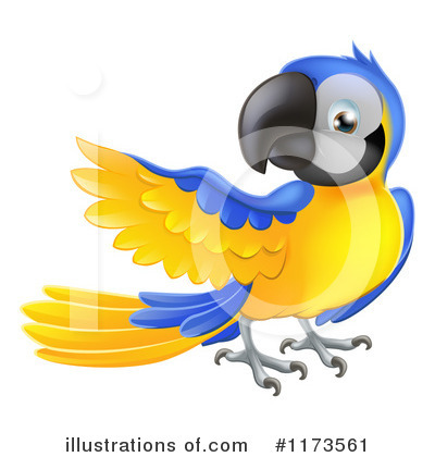 Parrot Clipart #1173561 by AtStockIllustration