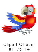 Parrot Clipart #1176114 by AtStockIllustration