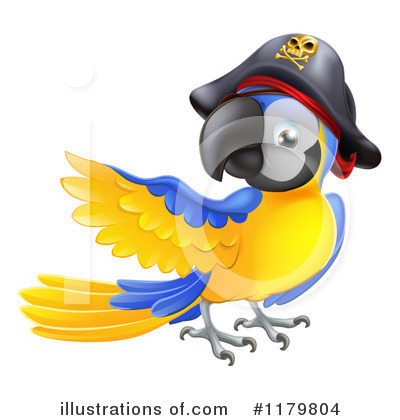 Parrot Clipart #1179804 by AtStockIllustration