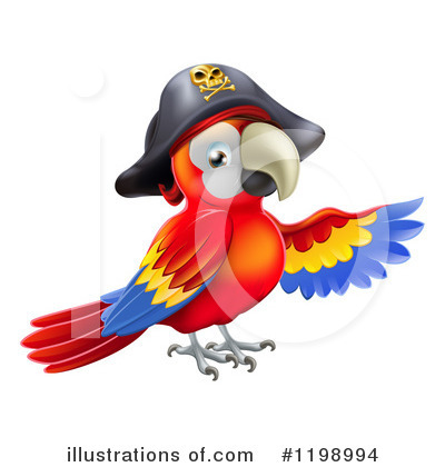 Pirate Clipart #1198994 by AtStockIllustration