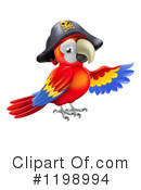 Parrot Clipart #1198994 by AtStockIllustration
