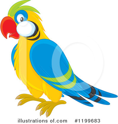 Parrot Clipart #1199683 by Alex Bannykh