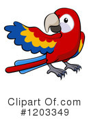 Parrot Clipart #1203349 by AtStockIllustration
