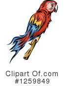 Parrot Clipart #1259849 by BNP Design Studio