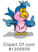 Royalty-Free (RF) Parrot Clipart Illustration #1306909