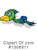 Royalty-Free (RF) Parrot Clipart Illustration #1306911
