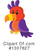 Royalty-Free (RF) Parrot Clipart Illustration #1307827
