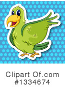 Parrot Clipart #1334674 by Graphics RF
