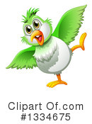 Parrot Clipart #1334675 by Graphics RF