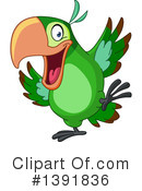 Parrot Clipart #1391836 by yayayoyo