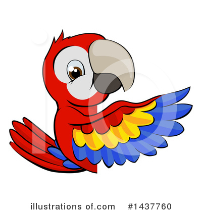 Parrot Clipart #1437760 by AtStockIllustration