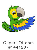Parrot Clipart #1441287 by AtStockIllustration