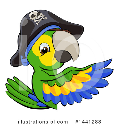 Parrot Clipart #1441288 by AtStockIllustration