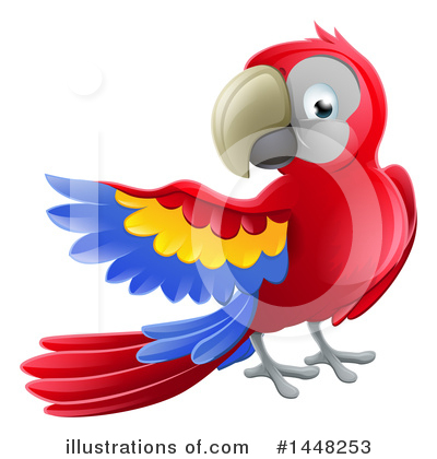 Parrot Clipart #1448253 by AtStockIllustration
