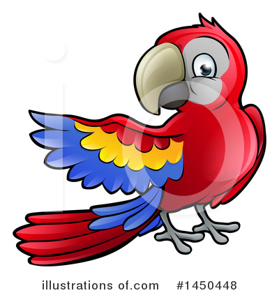 Parrot Clipart #1450448 by AtStockIllustration