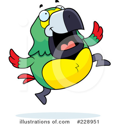 Parrot Clipart #228951 by Cory Thoman