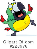 Parrot Clipart #228978 by Cory Thoman