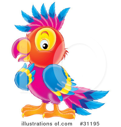 Parrot Clipart #31195 by Alex Bannykh
