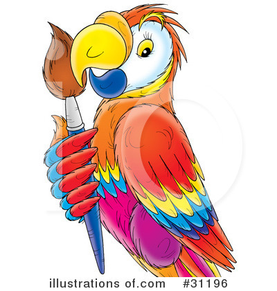 Parrot Clipart #31196 by Alex Bannykh
