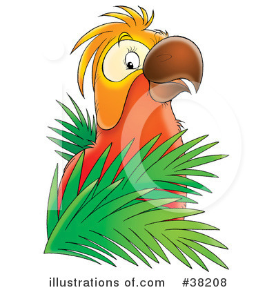 Parrot Clipart #38208 by Alex Bannykh