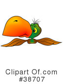 Royalty-Free (RF) Parrot Clipart Illustration #38707