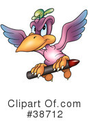 Royalty-Free (RF) parrot Clipart Illustration #38712