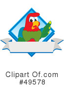 Parrot Mascot Clipart #49578 by Toons4Biz