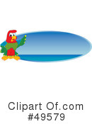 Parrot Mascot Clipart #49579 by Toons4Biz
