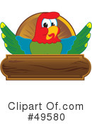 Parrot Mascot Clipart #49580 by Toons4Biz