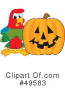 Parrot Mascot Clipart #49583 by Toons4Biz
