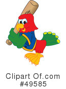 Parrot Mascot Clipart #49585 by Toons4Biz