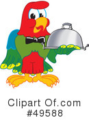 Parrot Mascot Clipart #49588 by Toons4Biz