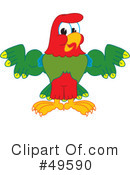 Parrot Mascot Clipart #49590 by Toons4Biz