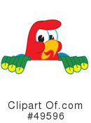 Parrot Mascot Clipart #49596 by Toons4Biz