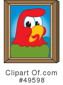 Parrot Mascot Clipart #49598 by Toons4Biz