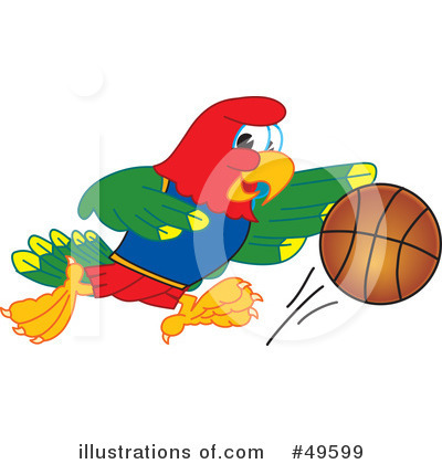 Basketball Clipart #49599 by Toons4Biz