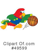 Parrot Mascot Clipart #49599 by Toons4Biz