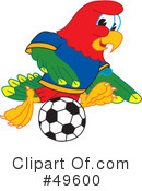 Parrot Mascot Clipart #49600 by Toons4Biz