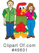 Parrot Mascot Clipart #49601 by Toons4Biz
