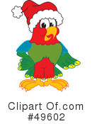 Parrot Mascot Clipart #49602 by Toons4Biz