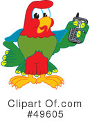 Parrot Mascot Clipart #49605 by Toons4Biz