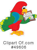 Parrot Mascot Clipart #49606 by Toons4Biz