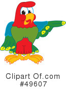 Parrot Mascot Clipart #49607 by Toons4Biz